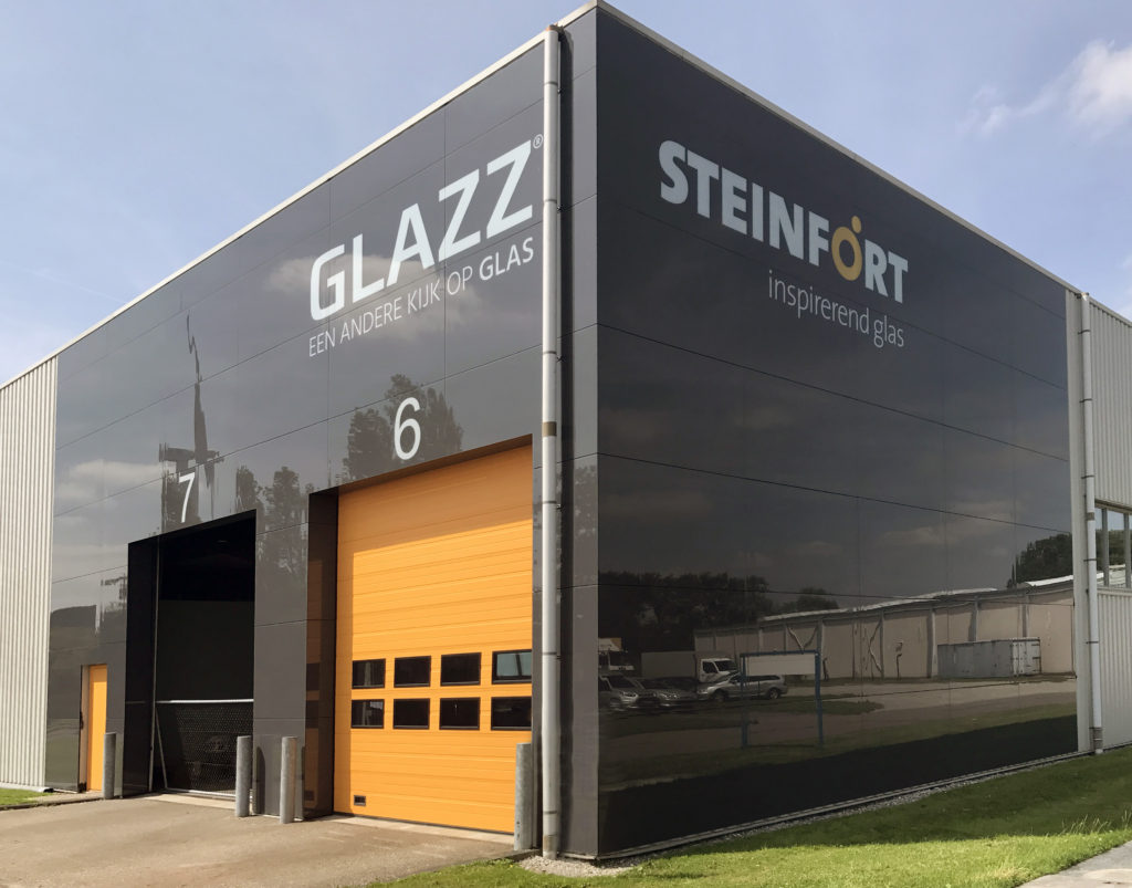 Steinfort Glazzpanelen metamorfose fabriek